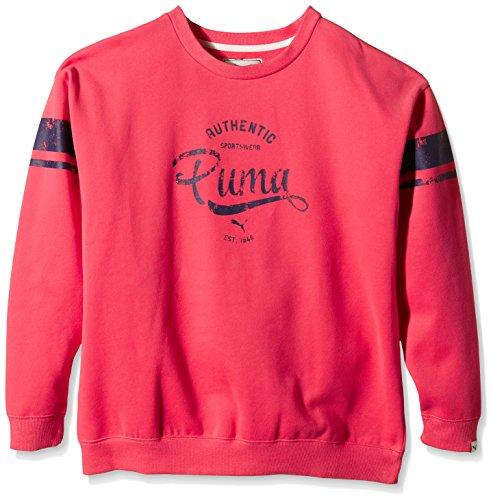 PUMA sweat-shirt pour femme Rouge - Rouge
