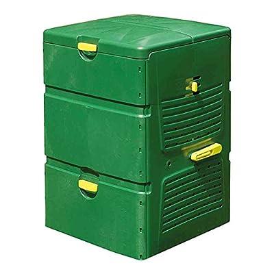 Juwel Komposter Aeroplus 6000, grün, 79 x 79 x 110 cm, 600 ml, 20171 von Juwel bei Du und dein Garten