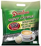 DOMINO CAFE PADS / DOSETTES DECA 100 PIECES