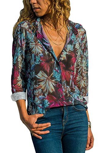 Aleumdr Womens Summer V Neck Poc...