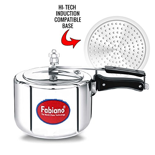 Fabiano Induction Base Pressure Cooker 3L with Inner Lid  available at amazon for Rs.799