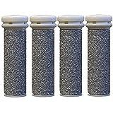 CSL Extreme - 4 rodillos de repuesto gruesos, compatibles con Emjoi Micro Pedi