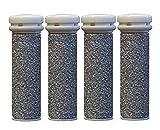 CSL® Emjoi Micro-Pedi Mineral Ersatzrollen sehr grob für , 4er Pack, silver