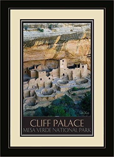Northwest Art Mall IL-4761 MFGDM Cliff Palace Mesa Verde National Park, gerahmt, 33 x 40,6 cm