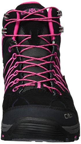 CMPRigel - Scarpe da trekking e da passeggiata Unisex – Adulto Grigio (Grau (Antracite-Hot Pink 515Q))