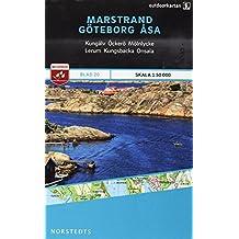Outdoorkartan Schweden 20 Marstrand - Göteborg -  Asa 1 : 50 000: amtliche Karte