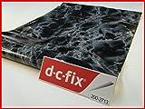 D C FIX vinilo autoadhesivo de mármol negro 45 cm x 1 m, 1 rollo 200-2713