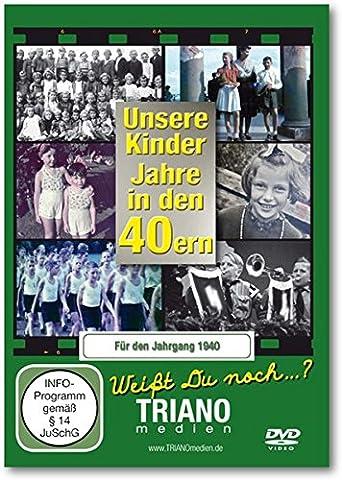 Unsere Kinder-Jahre in den 40ern für den Jahrgang 1940 - Kindheit vom Baby bis zum Schulkind - junges Leben in Deutschland in den 1940er Jahren: zum 77.