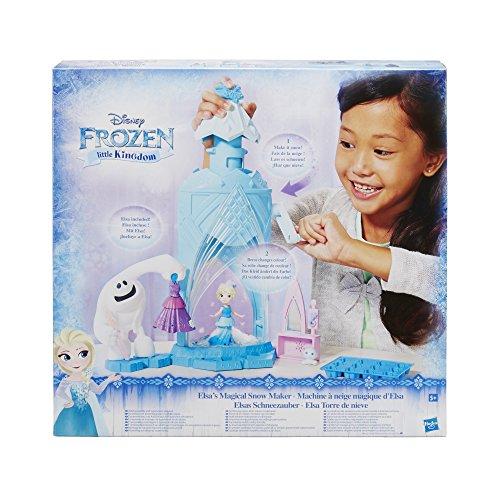 (Hasbro Disney Die Eiskönigin C0461EU4 - Little Kingdom Elsas Schneezauber, Spielset)