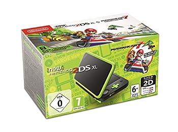 New Nintendo 2DS XL Syah+Yeşil (Mario Kart 7 Dahil)