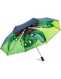 Fare - mini parapluie de poche original imprimé intérieur motif nature - ref 5593