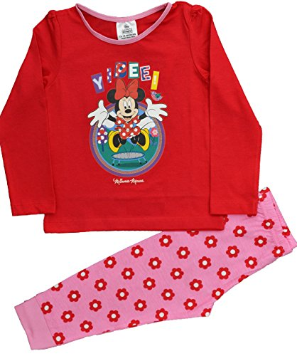 Image of Minnie Mouse Girls Pyjamas Sleepwear Sizes 12 Months to 5 Years (2-3 Years)
