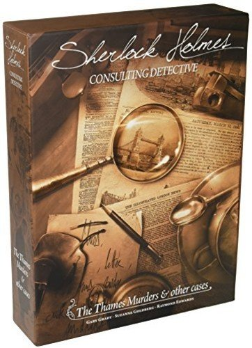 Space Cowboys SHEH03 Sherlock Holmes Consulting Detective Thames Murders Game