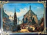 NÜRNBERGER HAUPTMARKT gflt. mit Haeberlein Metzger Oblaten Elisen Kipferl Lebkuchen 1500g