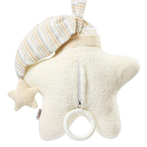 Fehn 154566 Spieluhr Stern – Aufzieh-Spieluhr mit herausnehmbarem Spielwerk zum Aufhängen an Bett, Kinderwagen oder Babyschale, für Babys und Kleinkinder ab 0+ Monaten - 5