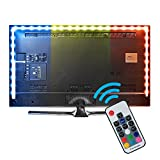Kreema 79inches Reversible USB Bias Beleuchtung, TV Hintergrundbeleuchtung Streifen RGB Farbwechsel Kit, Ambient Hintergrundbeleuchtung f¨¹r TV PC Monitor