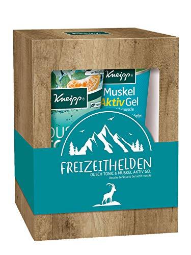 Kneipp Geschenkpackung Freizeithelden - Dusch Tonic & Muskel Aktiv Gel - 1er Pack (2 x 200 ml)