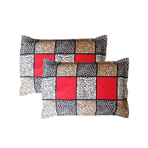 Amrange Cotton 2 Piece Set Designer Pillow Covers,Size-17'' x 27''