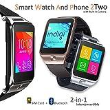 Best Los teléfonos Galaxy Indigi - Desbloquearán Indigi GSM teléfono móvil Bluetooth cámara reloj Review