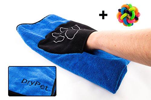 DryPet® Mikrofaserhandtuch für Katzen und Hunde - SUPER SAUGFÄHIG & HOCHWERTIGE QUALITÄT