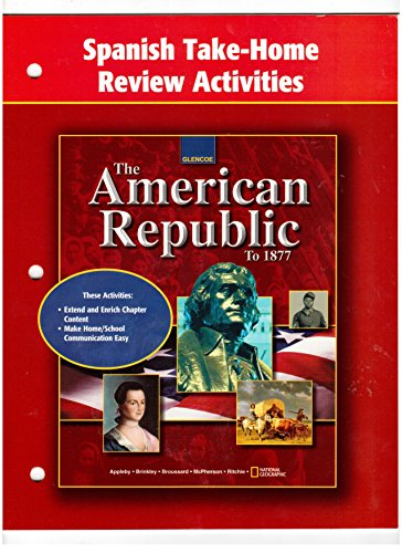 American Republic to 1877, Spanish Take-Home Activities par McGraw-Hill