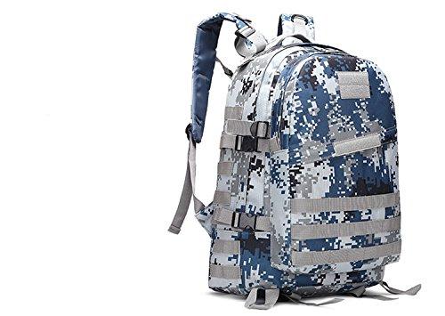 LWJgsa Outdoor - Fan Packt Camouflage - Taktik Rucksack Tour Camping Spezialeinheiten In Der Tasche stadt digital