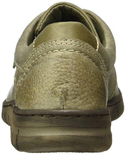 Josef Seibel Steffi Son 07, Chaussures à Lacets Femme Gris - Grau (Taupe/KOMBI 469)
