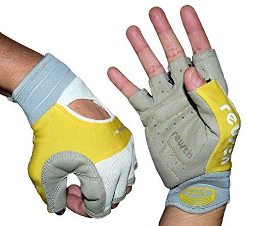 Reusch Handschuhe Nordic Walking Trail Gloves Fahrrad Sport Freizeit Unisex (8,0(M), Gelb)