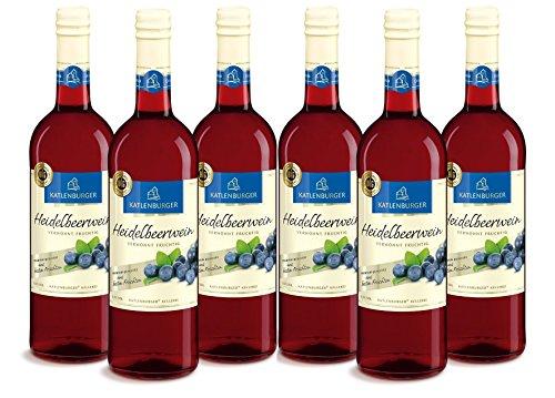 Katlenburger Fruchtwein Heidelbeere  (6 x 0.75 l)