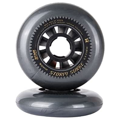 Mpc - Roller Vitesse Roue Storm Surge Ex Firm 90mm - Taille:90mm-pluie - Silver
