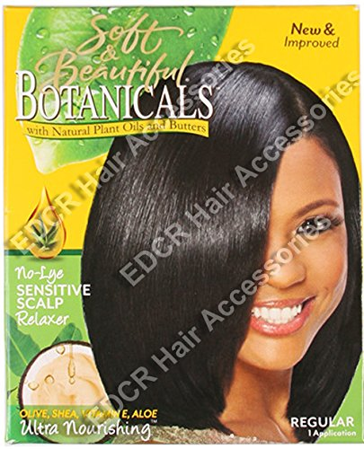 Soft & Beautiful Botanicals kit Défrisant Regular