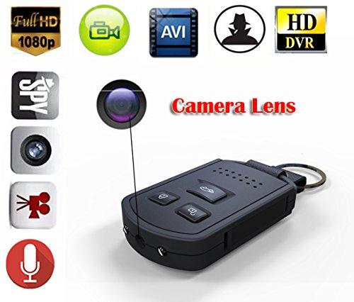 eptek @ HD 1920* 1080P 12Mega Pixel Funkschlüssel MINI Hidden Spy Auto Schlüsselbund Kamera mit Nachtsicht Bewegungserkennung Video Recorder tragbar Covert Nanny Kamera DVR