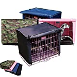 Best Pet Heavy Duty Crates - HANSHI Wire Dog Crate Covers Waterproof Heavy-Duty Canvas Review