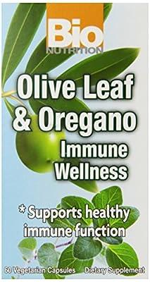 Bio Nutrition Olive Leaf And Oregano Immune Wellness 60 Vegicaps from Bio Nutrition Inc