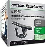 Rameder Komplettsatz, Anhängerkupplung starr + 13pol Elektrik für Ford TOURNEO Connect/Grand TOURNEO Connect Kombi (122105-11574-2)