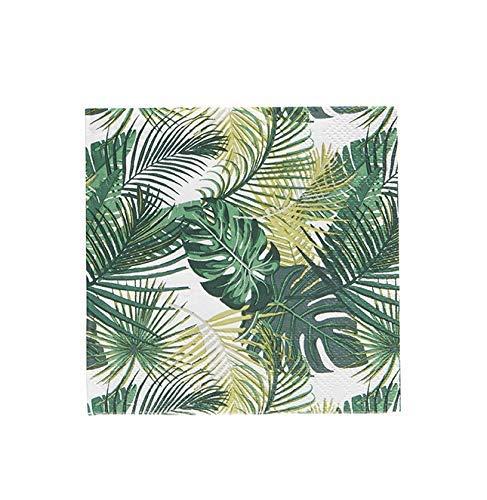 Cocktail-Servietten, Papierservietten, Florida Fiesta, Tropische Palmen, 12,7 x 12,7 cm, 40 Stück