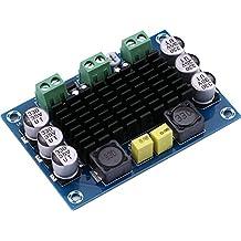 Yeeco TPA3116D2 100W Canal mono Audio Poder Amplificador AMP Tablero DC 12-26V Digital Estéreo Amperio Módulo para Coche Vehículo Computadora Altavoz Bricolaje Sonar Sistema Altavoz Casa Teatro