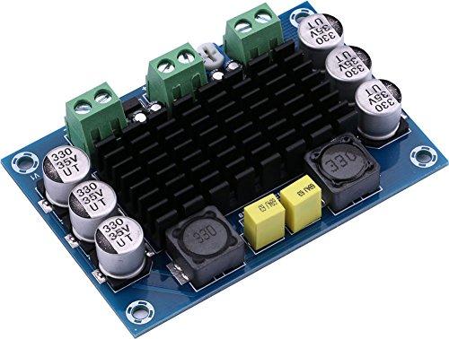 Yeeco 100W Mono-Kanal Audio Leistung Verstärker AMP Tafel DC 12-26V Digital Stereo Ampere Modul zum Auto Fahrzeug Computer Redner DIY Klingen System Redner Zuhause Theater (Digital Auto Stereo)