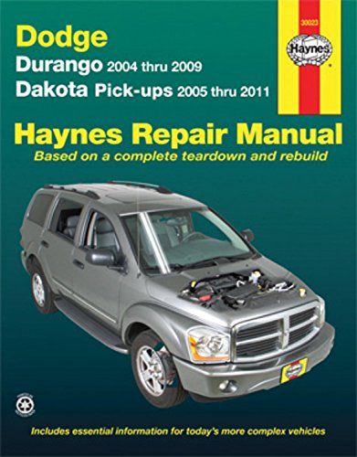 Haynes Durango Dodge (Dodge: Durango 2004 thru 2009 Dakota Pick-ups 2005 thru 2011 (Haynes Manuals))
