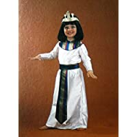 Disfraz de Cleopatra para niñas Talla 5-7 años