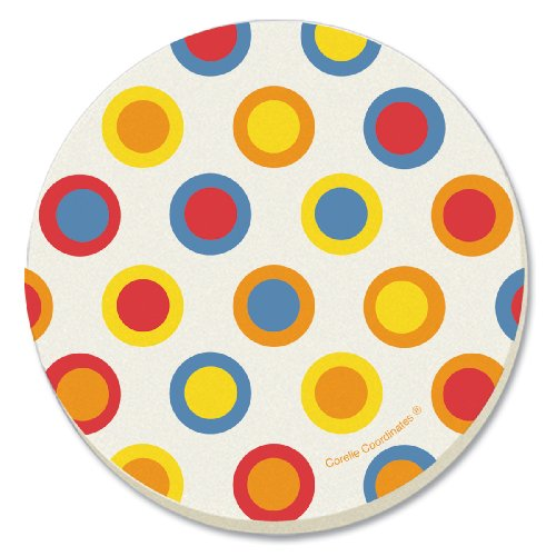 corelle-hot-dots-absorbent-stone-coaster-4-pack
