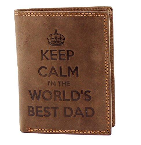 StarHide KEEP CALM I'M THE WORLDS BEST DAD Cartera