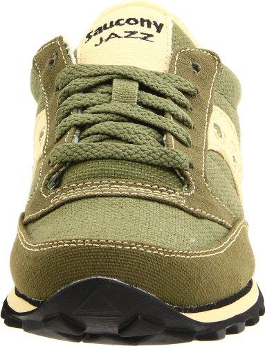 Saucony Originals Women's Jazz Low Pro Vegan Sneaker,Black,10 M US green