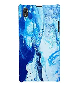 Marble Pattern 3D Hard Polycarbonate Designer Back Case Cover for Sony Xperia Z1 :: Sony Xperia Z1 L39h :: Sony Xperia Z1 C6902/L39h :: Sony Xperia Z1 C6903 :: Sony Xperia Z1 C6906 :: Sony Xperia Z1 C6943