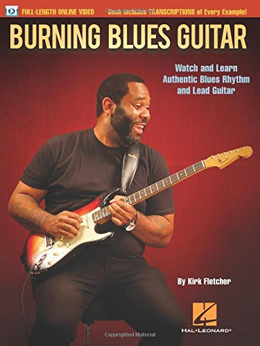 Burning blues guitar guitare+enregistrements online