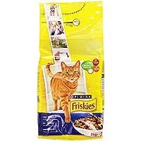 Friskies con Tonno e Verdure Aggiunte, Alimento Completo per Gatti Adulti - 2000 gr