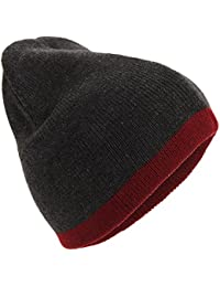 Universal Textiles Mens Reversible Winter Beanie Hat