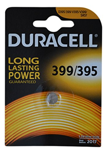 one-1-x-duracell-399-sr927w-sb-bp-silver-oxide-watch-battery-155v-blister-packed