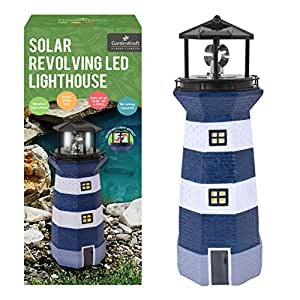 Benross Marketing Ltd - Lampe Phare Clignotant Solaire Ornement Décoration Jardin