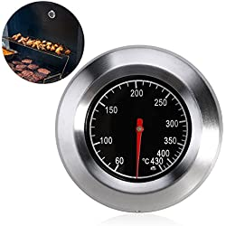 BESTOMZ horno leña bimetálico y horno horno barbacoa termómetro analógico